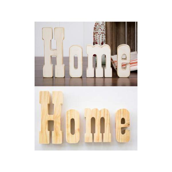 Shop Foundations Wood Home Letter Decor Free Shipping On Orders