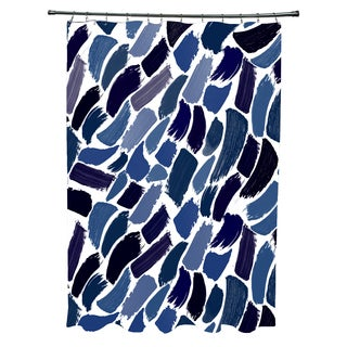 Wenstry Geometric Print Shower Curtain