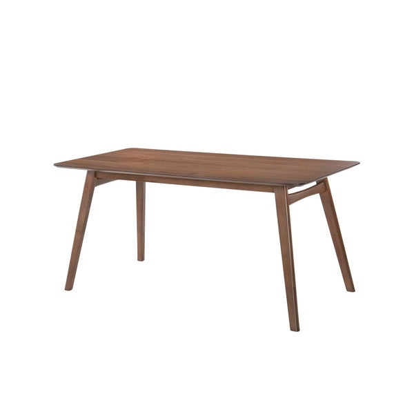 Shop Emerald Home Simplicity Walnut Rectangular Dining