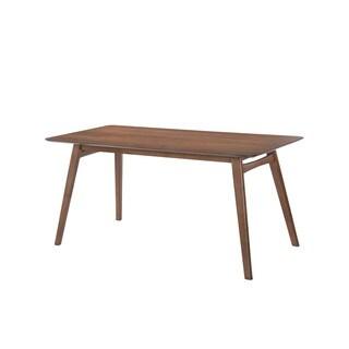 Emerald Home Simplicity Walnut Rectangular Dining Table