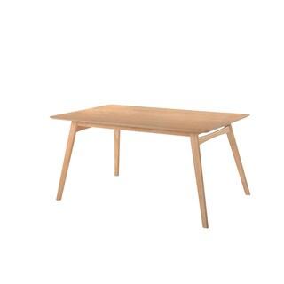 Emerald Home Simplicity Natural Rectangular Dining Table