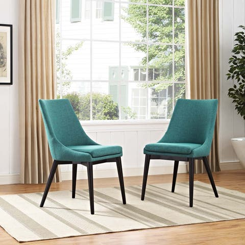 Modway Viscount Rubberwood Dining Chair (Set of 2)