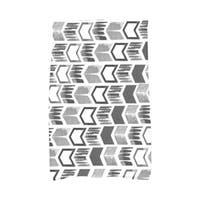 Peace 1 Geometric Print Hand Towel