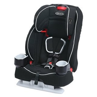 Graco Atlas 65 Glacier 2-in-1 Harness Booster Car Seat