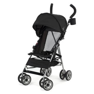 Kolcraft Cloud Black Lightweight Stroller