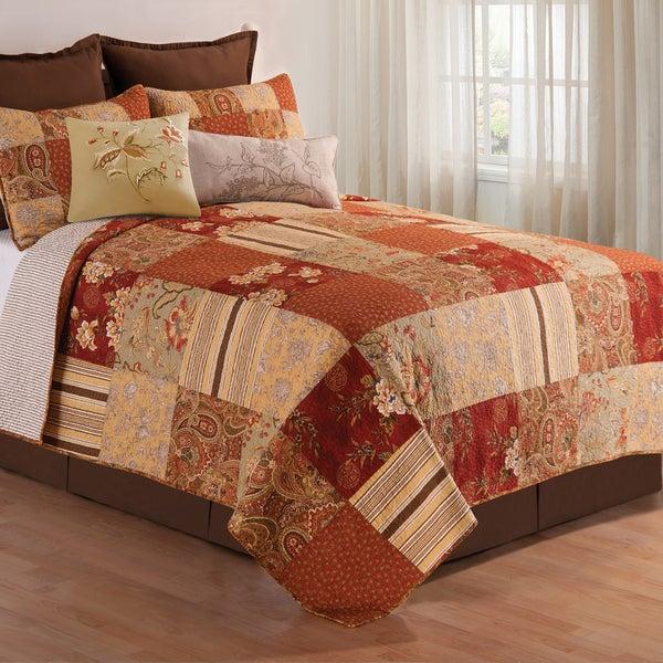 Amber Cotton Quilt Set