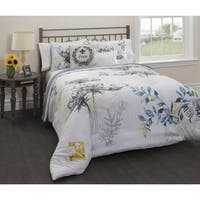 Casa Paris Lyon Floral 5-piece Comforter Bedding Set
