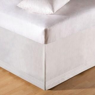 White Tailored Bed Skirt