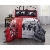 Casa Big Ben Photobooth London Bed In a Bag Bedding Set