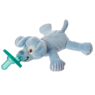 Wubbanub Mary Meyer Limited Edition Blue Puppy Infant Pacifier