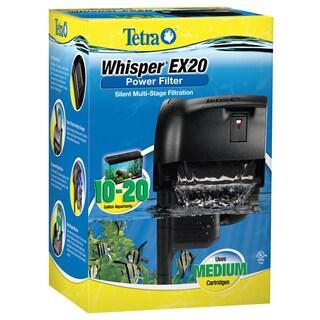 Tetra Pond 20 Gallon Whisper EX Filter For Aquariums - Black