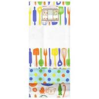 Design Works Printed Towels 18x28 Kitchen  Set of 3