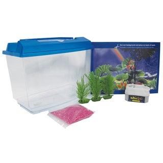 Penn Plax 1 Gallon Goldfish & Betta Aquarium Kit