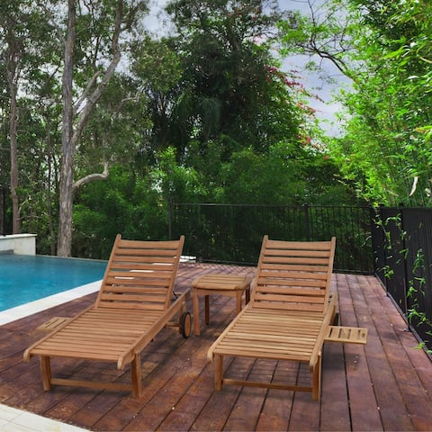 Tottenville 3-piece Patio Lounger Set by Havenside Home