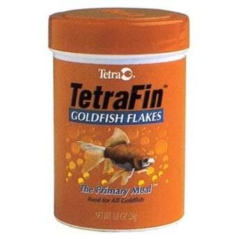 Tetra 1 Oz TetraFin Goldfish Flakes (Tetrafin Flkes 1oz)