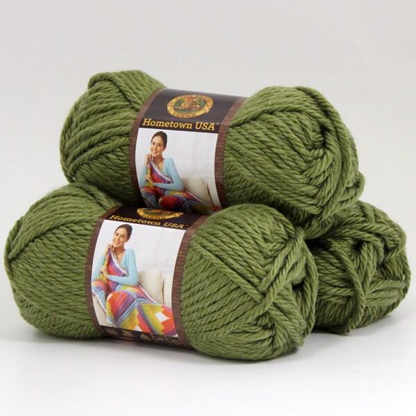 Shop Lion Brand Yarn Hometown Usa Galveston Green 135 176 3 Pack