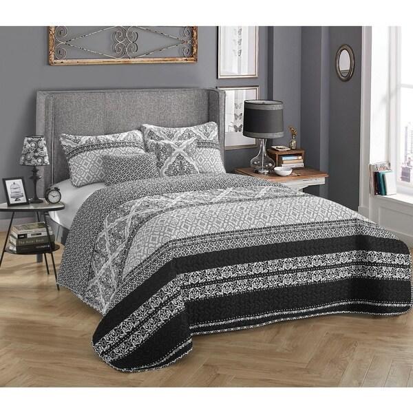 StyleNest Talulah 5-piece Bedding Quilt Set