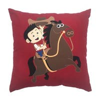 Kid's Wild West Decorative Throw Pillow