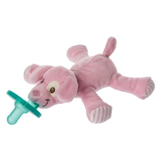 Wubbanub Mary Meyer Limited Edition Pink Puppy Infant Pacifier