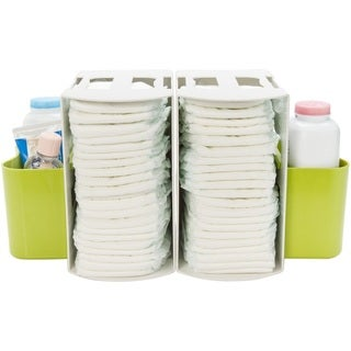 Prince Lionheart Green 2-in-1 Diaper Depot