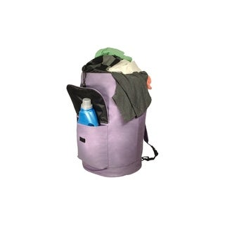 Extra Large Laundry Knapsack in Lilac