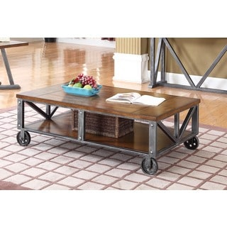 Best Master Furniture DX500 Wood Coffee Table