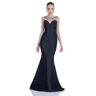 Black Strapless Sweetheart Dress
