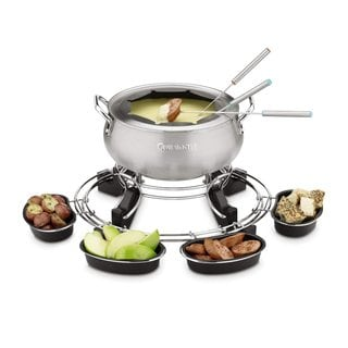 Cuisinart CFO-1000 Lazy Susan Electric Fondue Maker (Refurbished)