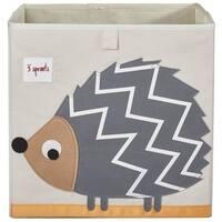 3 Sprouts Grey Hedgehog Storage Box