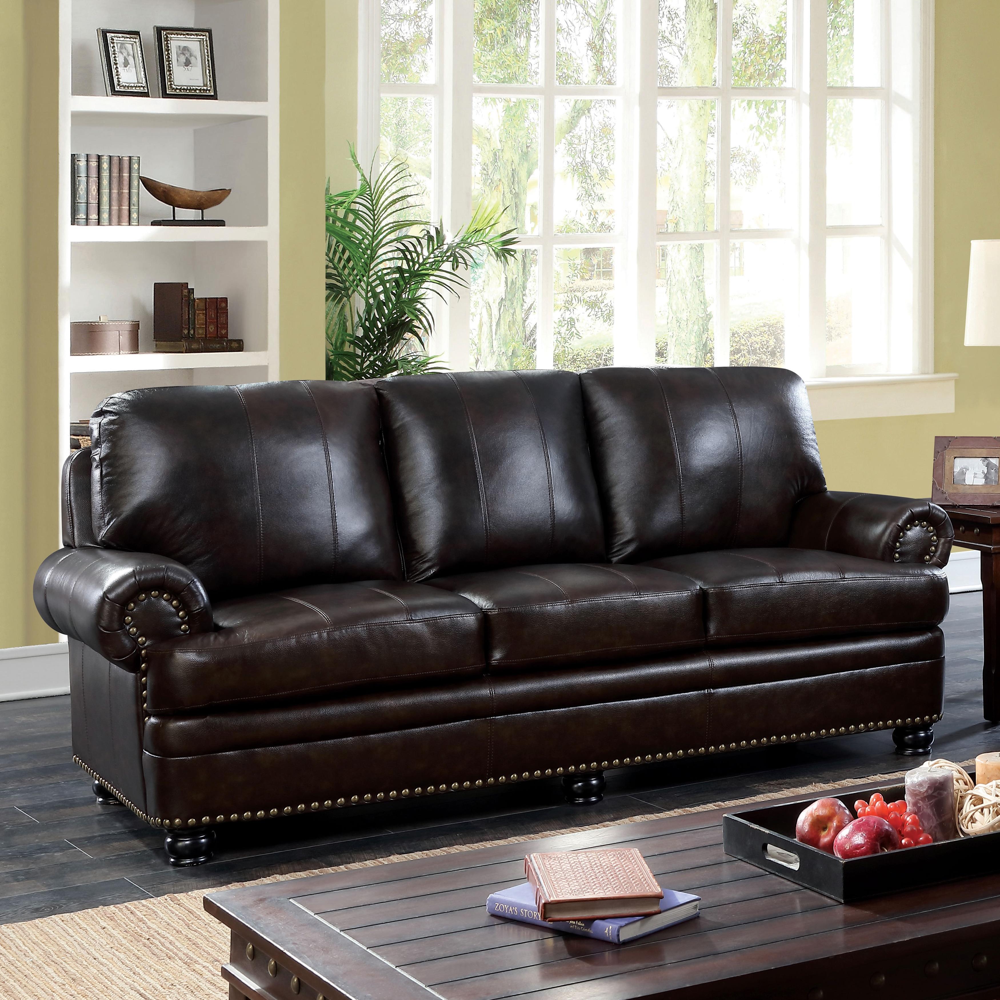 Koda Traditional Brown Leather