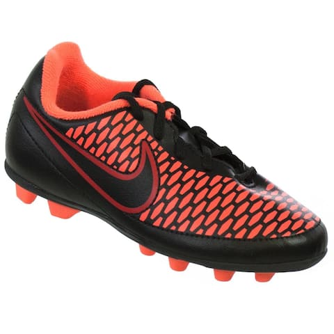 Nike Jr Magista Ola FG-R Black/Magenta/Red Youth Molded Soccer Cleats