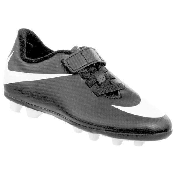 NIke Junior Bravada Kids' Black/White Molded Soccer Cleats