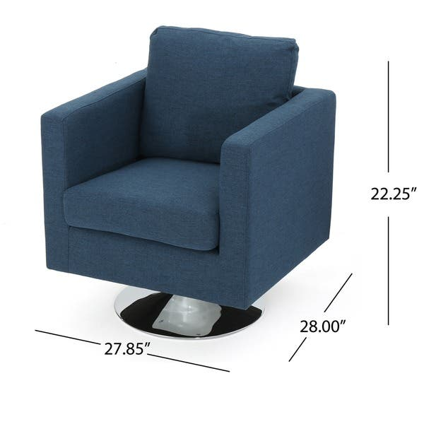 Cool Shop Holden Modern Fabric Swivel Club Chair By Christopher Theyellowbook Wood Chair Design Ideas Theyellowbookinfo