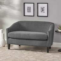 Justine Fabric Loveseat by Christopher Knight Home