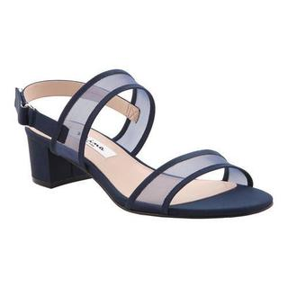 Women's Nina Ganice Slingback New Navy Luster Satin/Navy Mesh (More options available)