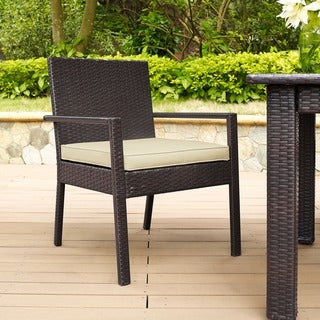 Palm Harbor Wicker Outdoor Dining Chairs (Set of 2)