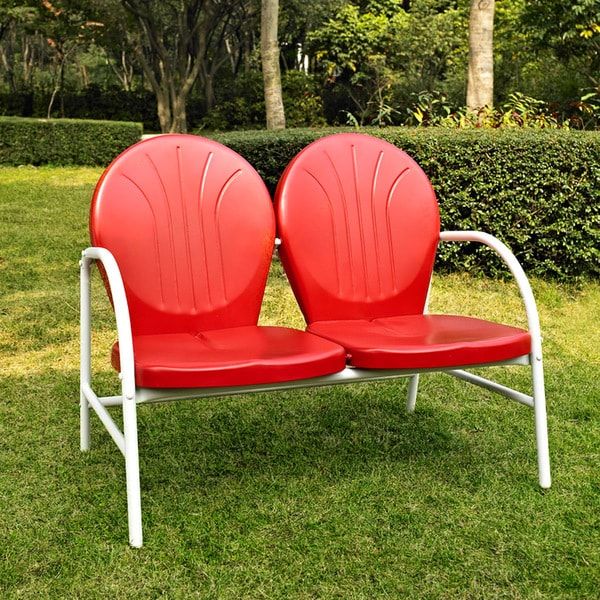 shop griffith 3 piece metal outdoor conversation seating
