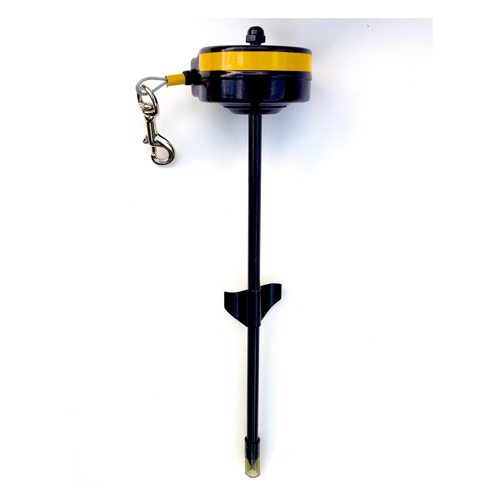 Reel King Retractable Dog Tie Out (Small Dog 15-30 lbs, Y...