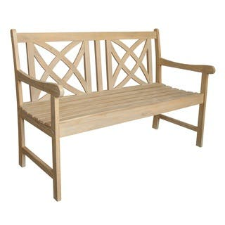 Beverly Outdoor 4-foot Garden Bench in Sand-Splashed Finish https://ak1.ostkcdn.com/images/products/15049638/P21543194.jpg?impolicy=medium