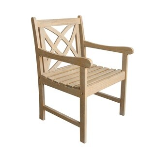 Beverly Outdoor Garden Armchair in Sand-Splashed Finish