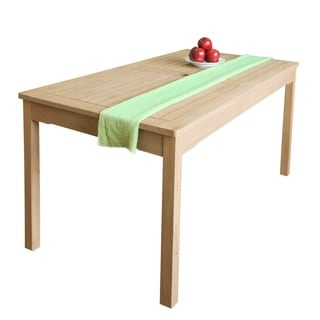 Beverly Outdoor Garden Classic Rectangular Table in Sand-splashed Finish