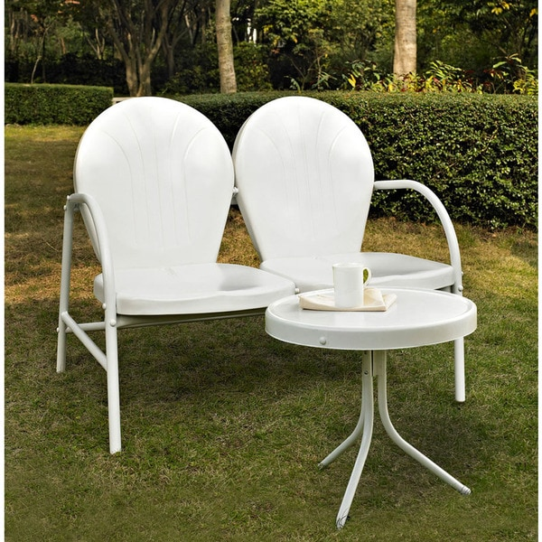 Shop Griffith 2 Piece Metal Outdoor Conversation Seating