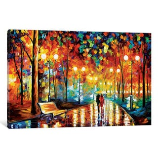 iCanvas 'Rain's Rustle II' by Leonid Afremov Canvas Print
