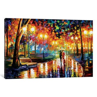 iCanvas 'Rain's Rustle I' by Leonid Afremov Canvas Print