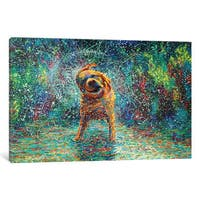 iCanvas 'Shakin' Jake' by Iris Scott Canvas Print