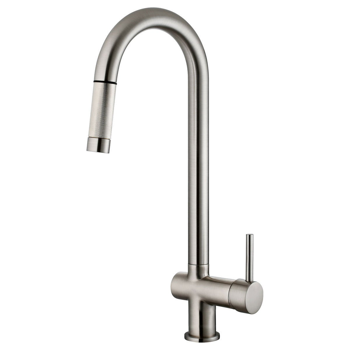 Lk13b Pull Out Kitchen Faucet Brushed Nickel Finish