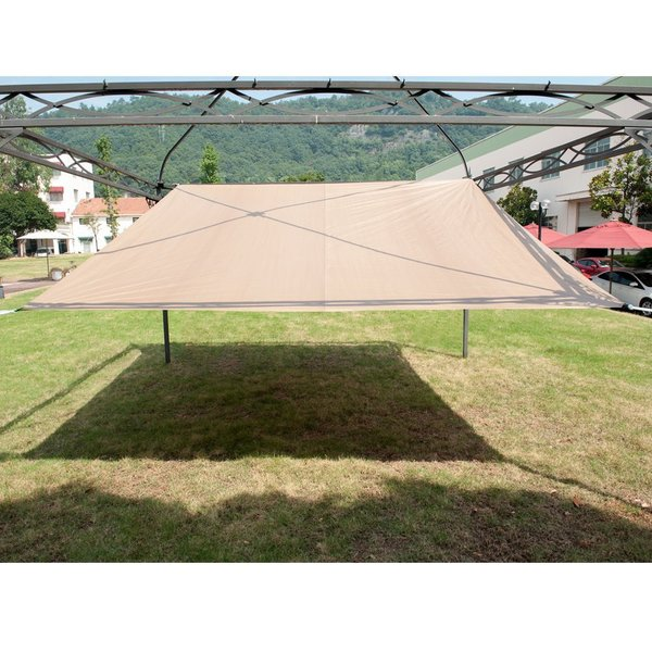 Shop Abba Patio Outdoor 12 X12 Square Sun Shade Sail Canopy Shelter