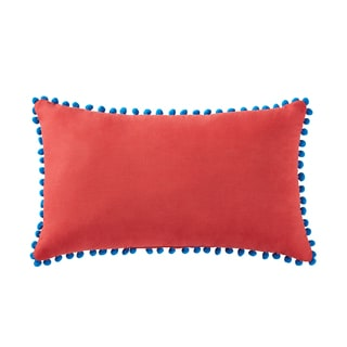 """Antik Batik Margo 12"""" x 20"""" Pom Pom Pillow"""