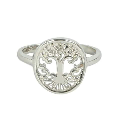 14k Gold Tree of Life Ring