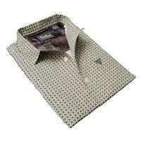 DaVinci Men's 'Eugene' Cotton Short-sleeved Shirt
